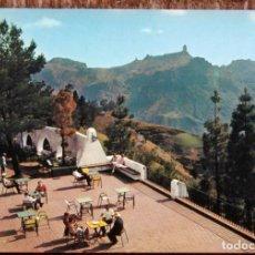 Postales: TEJEDA - ROQUE NUBLO DESDE EL PARADOR NACIONAL DE TURISMO. Lote 179089146