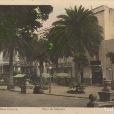 Postales: POSTAL Nº 37 LAS PALMAS DE GRAN CANARIA PLAZA DE CAIRASCO EDICIONES ARRIBAS. Lote 179186690