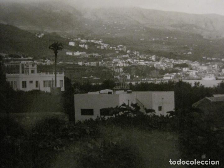 Postales: SANTA CRUZ DE LA PALMA-CIUDAD DESDE LA MEDIA LUNA-FOTOGRAFICA PALMA 20-VER FOTOS-(63.127) - Foto 2 - 179310358