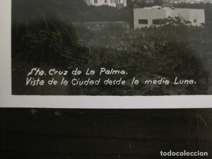 Postales: SANTA CRUZ DE LA PALMA-CIUDAD DESDE LA MEDIA LUNA-FOTOGRAFICA PALMA 20-VER FOTOS-(63.127) - Foto 3 - 179310358