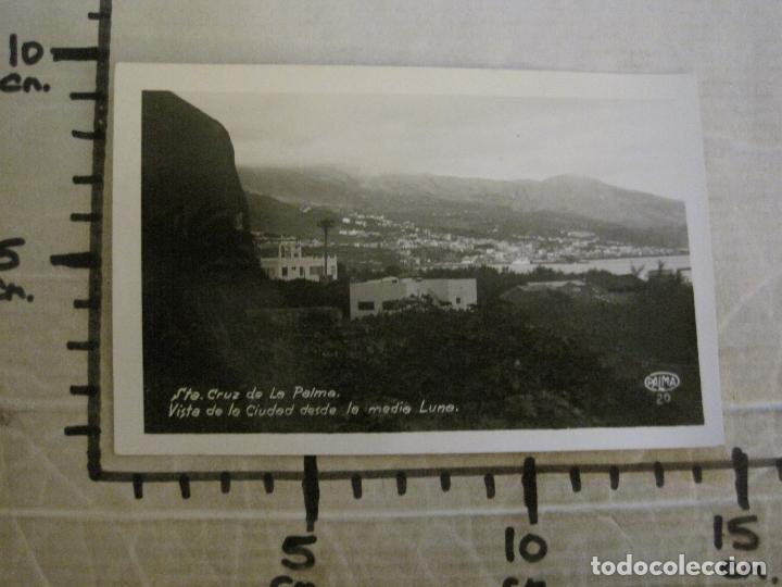 Postales: SANTA CRUZ DE LA PALMA-CIUDAD DESDE LA MEDIA LUNA-FOTOGRAFICA PALMA 20-VER FOTOS-(63.127) - Foto 6 - 179310358