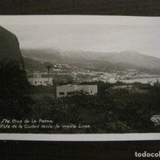 Postales: SANTA CRUZ DE LA PALMA-CIUDAD DESDE LA MEDIA LUNA-FOTOGRAFICA PALMA 20-VER FOTOS-(63.127). Lote 179310358