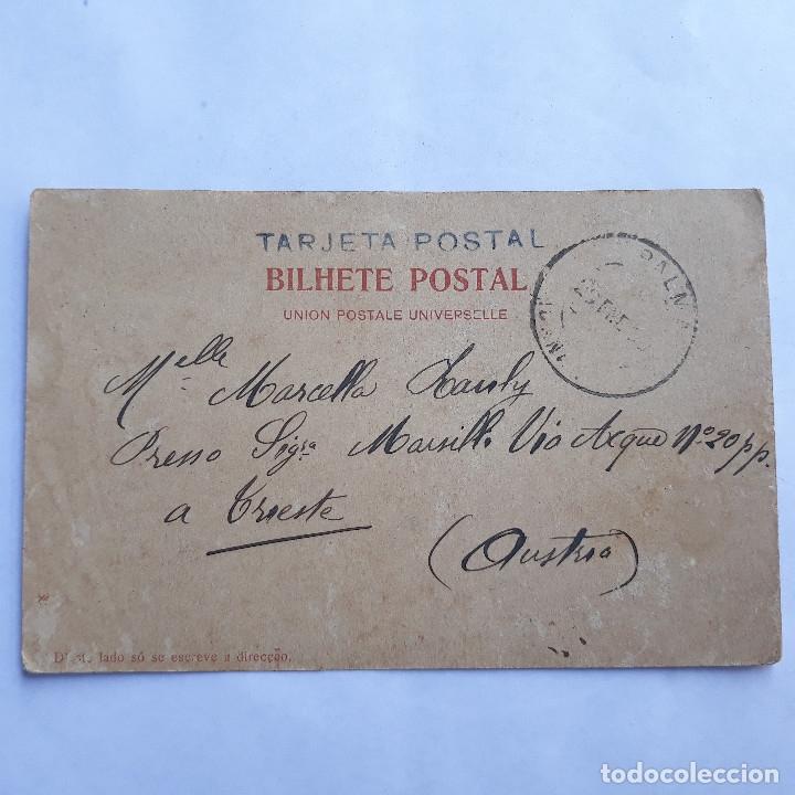 Postales: Las Palmas. Bazar alemán. circulada - Foto 2 - 179341887