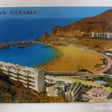 Postales: POSTAL. 542. GRAN CANARIA. PLAYA DE PUERTO RICO. ED. ARRIBAS. NO ESCRITA. . Lote 179382596