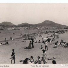 Postales: POSTAL DE PUERTO DE LA LUZ - PLAYA DE LAS CANTERAS. Lote 180017351