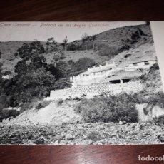 Postales: Nº 11781 POSTAL GRAN CANARIA PALACIO DE LOS REYES GUANCHES SIN DIVIDIR. Lote 180204465