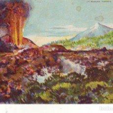Cartoline: TENERIFE VOLCAN CHINYERO EL TEIDE. Lote 180291533