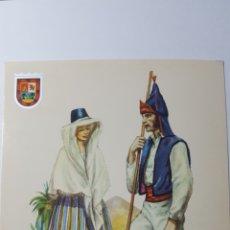 Postales: TRAJES TÍPICOS DE LAS ISLA CANARIAS. N°8 ISLA DE GRAN CANARIA. EDICIONES ISLAS. 1967. Lote 180424982