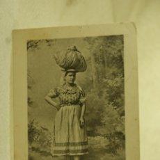 Postales: TENERIFE LAVANDERA 1915 ESCRITA Y FRANQUEADA. Lote 181335555