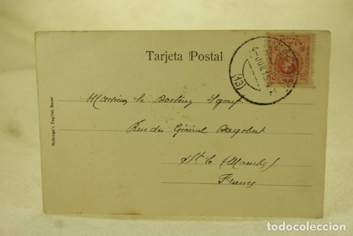 Postales: TENERIFE LAVANDERA 1915 ESCRITA Y FRANQUEADA - Foto 3 - 181335555