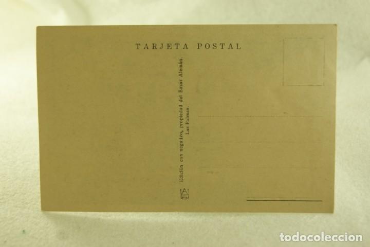 Postales: LAS PALMAS CALLE DE TRIANA COCHES ANIMMADA BAZAR ALEMAN - Foto 2 - 181335660