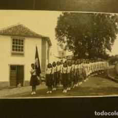 Postales: PUERTO DE LA CRUZ TENERIFE GRUPO DE CHICAS DEL SEU FORMADAS POSTAL FOTOGRAFICA BAEZA FOTOG. Lote 182169652