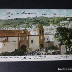 Postales: LAS PALMAS DE GRAN CANARIA SANTO DOMINGO. Lote 182252402