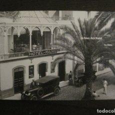 Postales: LAS PALMAS-HOTEL MADRID-COCHE-FOTO BAENA-POSTAL FOTOGRAFICA-VER FOTOS-(63.763). Lote 182300303