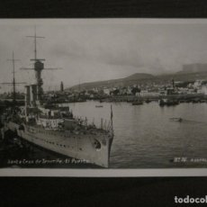 Postales: SANTA CRUZ DE TENERIFE-PUERTO-BARCO-76-POSTAL EXPRES-FOTOGRAFICA-VER FOTOS-(63.764). Lote 182300476