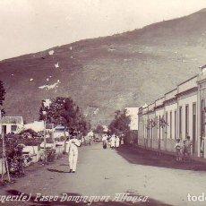 Postales: TENERIFE OROTAVA PASEO DOMINGUEZ ALFONSO. Lote 182335746