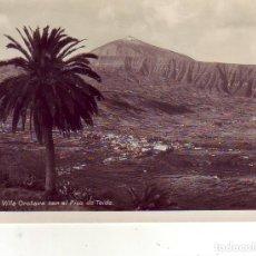 Postales: TENERIFE PAISAJE DEL VALLE DE LA OROTAVA . Lote 182341152