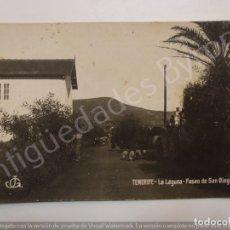 Postales: POSTAL ANTIGUA. TENERIFE. LA LAGUNA. PASEO DE SAN DIEGO. JG. Lote 182515193