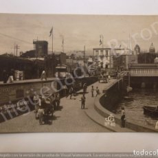 Postales: POSTAL ANTIGUA. SANTA CRUZ DE TENERIFE. ENTRADA MUELLE. JG Nº 40. Lote 182518233
