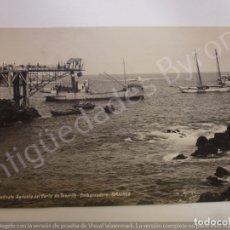 Postales: POSTAL ANTIGUA. SINDICATO AGRÍCOLA DEL NORTE DE TENERIFE. EMBARCADERO.GARACHICO. FOTO BAENA. Lote 182525630