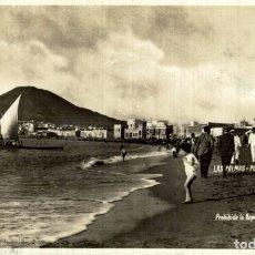 Postales: LAS PALMAS – PLAYA DE LAS CANTERAS – FOTO BAENA Nº13. FOTOGRAFICA. Lote 182569016