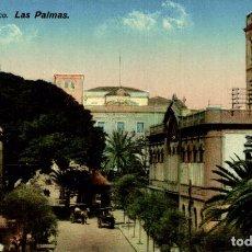Postales: LAS PALMAS. PLAZA DE CAIRASCO. Lote 182570311