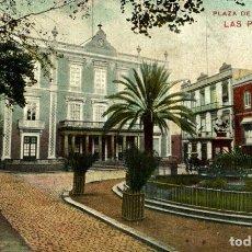 Postales: LAS PALMAS. PLAZA DE CAIRASCO.. Lote 182571670