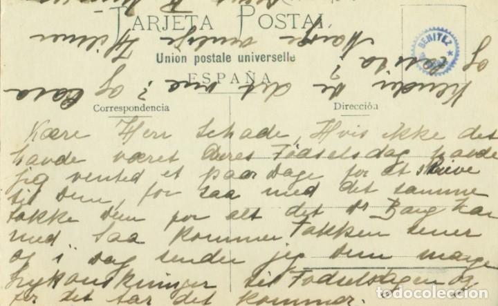 Postales: TENERIFE PUERTO DE LA OROTAVA. VISTA GENERAL. ESCRITA HACIA 1913. FOTO A. BENITEZ. PIEZA ÚNICA. - Foto 2 - 182642583