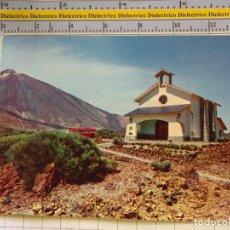 Postais: POSTAL DE TENERIFE. AÑO 1962. CAPILLA Y PARADOR DE LAS CAÑADAS. 939. Lote 182643973