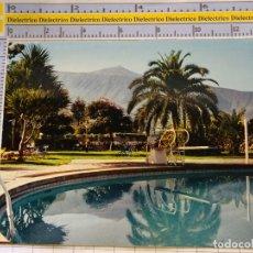 Postais: POSTAL DE TENERIFE. AÑOS 50 60. TEIDE REFLEJADO EN LA PISCINA DEL HOTEL TAORO. 950. Lote 182644297