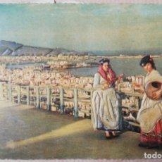 Postales: POSTAL EN RELIEVE. LAS PALMAS, VISTA PANORÁMICA DEL PUERTO DE LA LUZ.. Lote 182679755