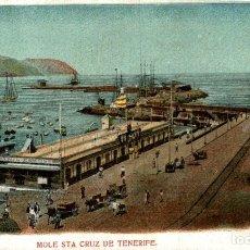 Postales: MOLE STA CRUZ DE TENERIFE. Lote 182794725