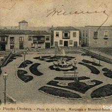 Postales: TENERIFE, PUERTO OROTAVA. Lote 182799092