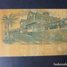 Postales: TACORONTE TENERIFE CAMACHO´S ENGLISH HOTEL POSTAL REVERSO SIN DIVIDIR RARA. Lote 182981005