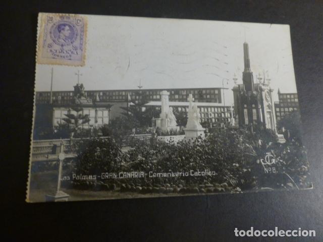 LAS PALMAS DE GRAN CANARIA CEMENTERIO CATOLICO (Postales - España - Canarias Antigua (hasta 1939))