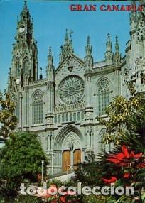 CANARIAS - Nº 2835 ARUCAS LA CATEDRAL - AÑO 1974 - SIN CIRCULAR (Postales - España - Canarias Moderna (desde 1940))