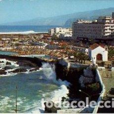 Postales: CANARIAS - TENERIFE - Nº 9 PUERTO DE LA CRUZ - PISCINAS Y PANORAMICA - AÑO 1973 - SIN CIRCULAR. Lote 183083275