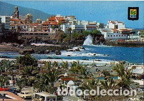 CANARIAS - TENERIFE - Nº PUERTO DE LA CRUZ VISTA PARCIAL - AÑO 1978 - SIN CIRCULAR (Postales - España - Canarias Moderna (desde 1940))