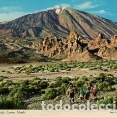 Postales: CANARIAS - TENERIFE - VISTA DEL TEIDE - SIN CIRCULAR. Lote 183085472