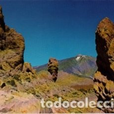 Postales: CANARIAS - TENERIFE - TEIDE - LOS ROQUES - AÑO 1978 - SIN CIRCULAR. Lote 183086725