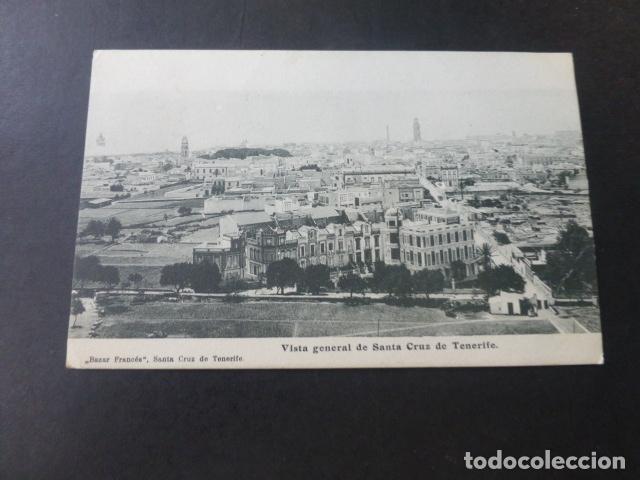 SANTA CRUZ DE TENERIFE VISTA GENERAL (Postales - España - Canarias Antigua (hasta 1939))