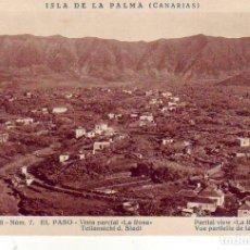Cartes Postales: TENERIFE- SANTA CRUZ DE LA PALMA - EL PASO LA ROSA. Lote 183477046
