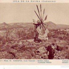 Cartes Postales: TENERIFE- SANTA CRUZ DE LA PALMA - GARAFIA LAS TRICIAS. Lote 183478517