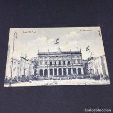 Postales: ANTIGUA POSTAL DE LAS PALMAS - AYUNTAMIENTO - SIN CIRCULAR. Lote 183484513