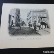 Postales: SANTA CRUZ DE TENERIFE PLAZA DE LA CONSTITUCION. Lote 183521928
