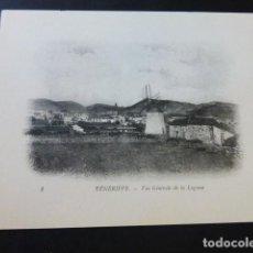 Postales: LA LAGUNA TENERIFE VISTA GENERAL. Lote 183521977