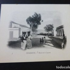 Postales: LA LAGUNA TENERIFE CANARIAS UNA CALLE. Lote 183521986