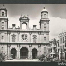 Postales: POSTAL CIRCULADA - LAS PALMAS DE GRAN CANARIA 1007 - CATEDRAL - EDITA FISA. Lote 183532922