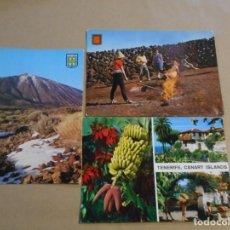Postales: 8 POSTALES ISLAS CANARIAS. Lote 183550577