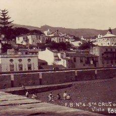Cartes Postales: TENERIFE LA PALMA SANTA CRUZ VISTA PARCIAL. Lote 183633142